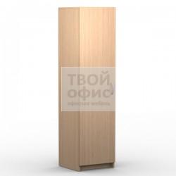 Шкаф для одежды узкий офисный