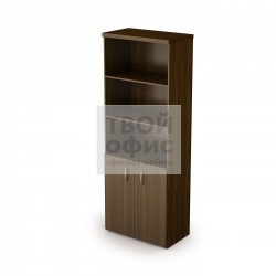 Шкаф книжный с фасадом малым с топом