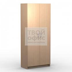 Шкаф офисный с глухими дверьми