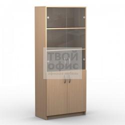 Шкаф комбинированный офисный для документов