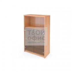 Шкаф офисный для документов средний полузакрытый