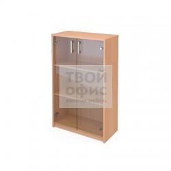 Шкаф офисный для документов средний закрытый