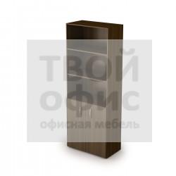 Шкаф книжный с фасадом малым