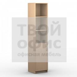 Шкаф колонка с глухой малой дверью