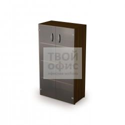 Шкаф со стеклянным фасадом