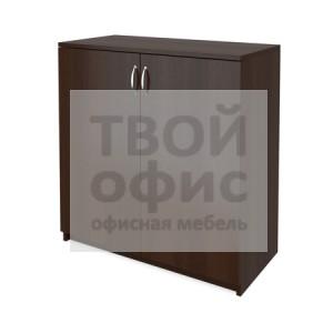 Шкаф для документов офисный низкий закрытый