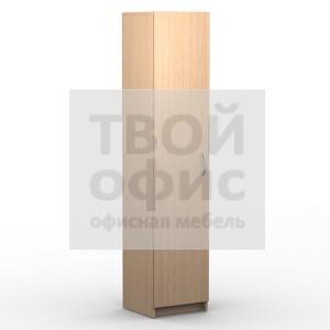 Шкаф колонка с глухой дверью