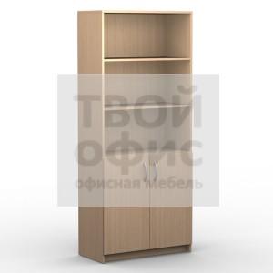 Шкаф с комплектом глухих малых дверей