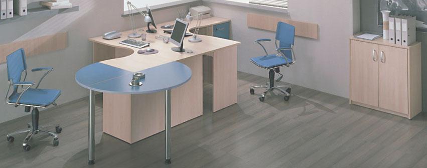 Мебель для персонала Арго Бук Синий