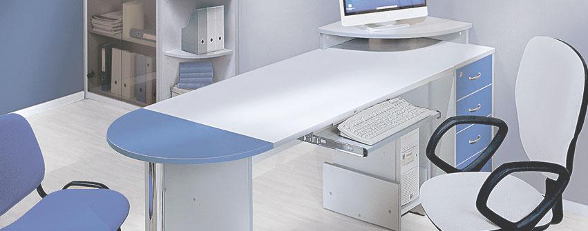 Мебель для персонала Арго Серый Синий