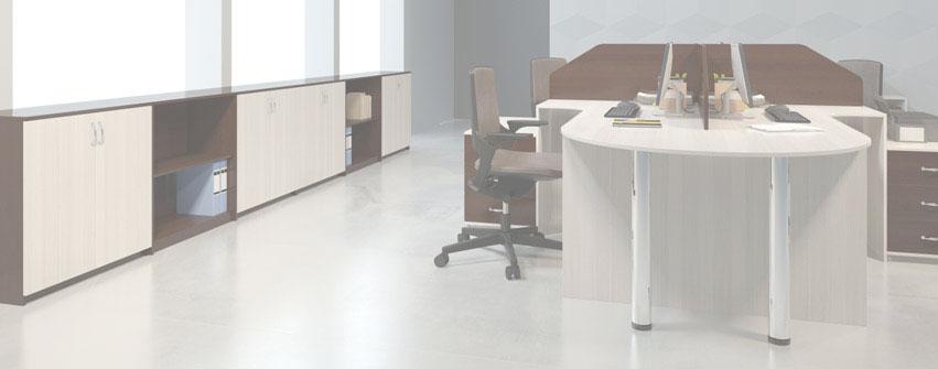 Мебель для персонала Матрица Дуб Млечный
