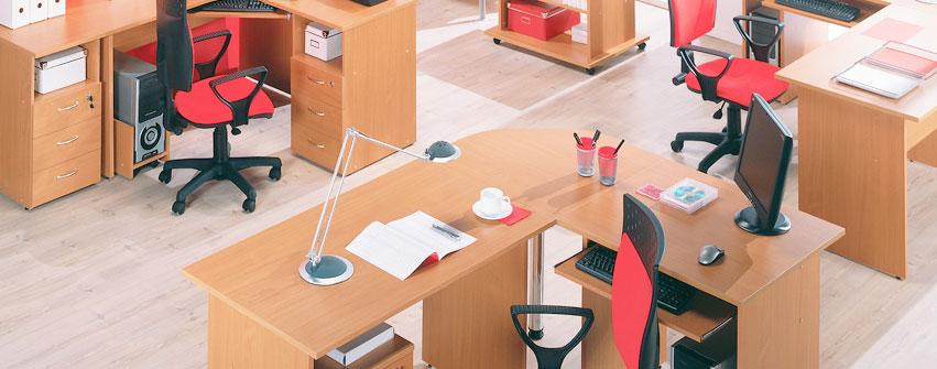 Офисная мебель персонала Стиль цвет бук
